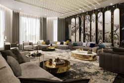 Glass Interior Designer Work
