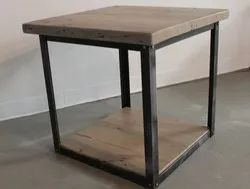 Polished Wooden SS Table