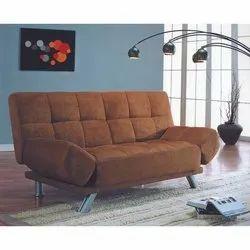 Mild Steel (Frame) Modern Three Seater Sofa, Living Room, 5 Inch
