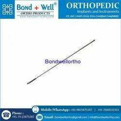 Orthopedic Implants Kirchner Wire Threaded