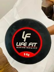Fixed Weight Rubber Dumbbell