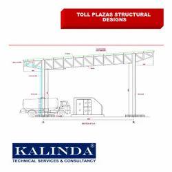 Steel Offline Toll Plaza Structure Design, in Pan India