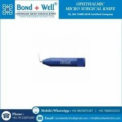 Ophthalmic Crescent Knives And Blades