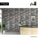 Stone Grey Front Elevation 3d Porcelain Wall Tile, Thickness: 8 - 10 Mm, Size: Medium