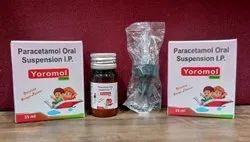 Yoromol Paracetamol Oral Suspension IP