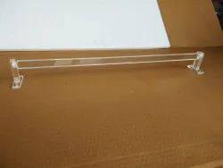 Acrylic Towel Rod Plain 24 inches
