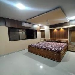 Bedroom Interior Designers, Work Provided: Wall Paper/Paint Work