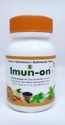 Imun-On ( Immunity Booster With Herbals Multivitamins & Multi-Minerals )