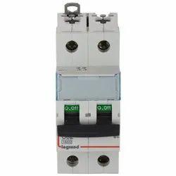 32A Double Pole Legrand MCB C 02