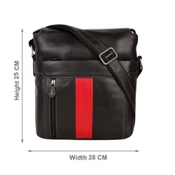 Men NDM Leather Cross Bag