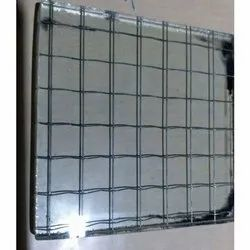 Fire Rated Clear Wired Glass, Thickness: 7.2 Mm