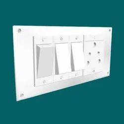 6A Plastic Electric SwitchBoard, 1, IP55