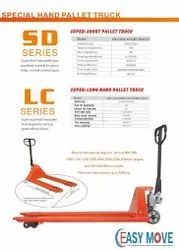 Easy Move Short Pallet Truck, For Lifting And Shifting, Model: Em 103