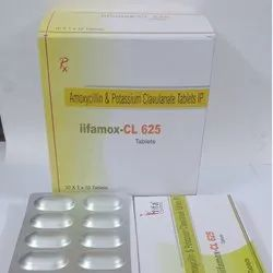 Amoxycillin Trihydrate Ip 500mg & Potassium Clavulanate Diluted Ip  125mg