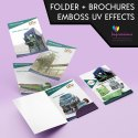 Presentation Folders With Inserts Printing Services