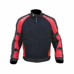 Heavy Duty Micro Mesh Men Red and Black MOTOTECH Scrambler AIR Motorcycle Jacket