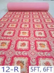 Non Woven Printed Carpet Design No - 12 Red