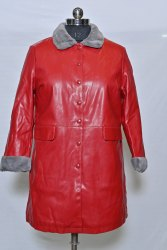 LJ10 Girls Leather Jacket