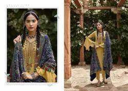 Viona wool Designer Heavy Winter Collection Salwar Suit With Velvet duppatta