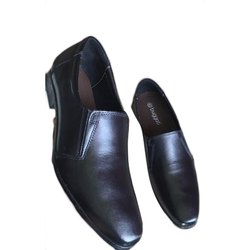 Bugatti Black Men Formal Leather Shoes
