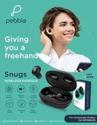 Pebble SNUGS - Wireless Ear Pods With Touch