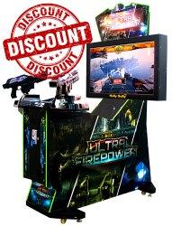 Gun Shooting Arcade Game Machine - 3 In1 42
