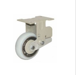 Spring Loaded C.I PU Caster Wheel