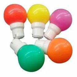 Ceramic Round 0.5W Source LED Night Bulb, Base Type: B22