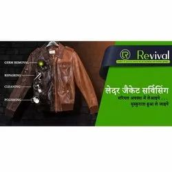 Leather Jacket Cleaning & Repair Service