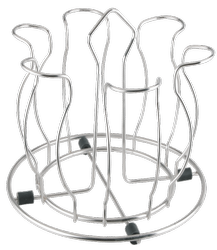 Stainless Steel Lotus Glass Stand