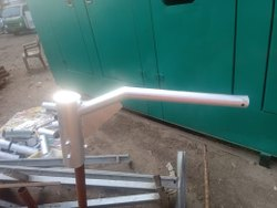 Metal Round Poles Brackets, accessories for octagonal poles, For Commercial
