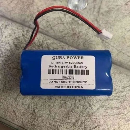 5200mAh Rechargeable Li-Ion Battery 3.7v