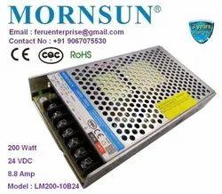 Mornsun 24VDC 8.8A 200W Power Supply