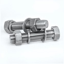 RS Hex Head Din933 Bolt, Grade: 4.6, Size: M5 To M24