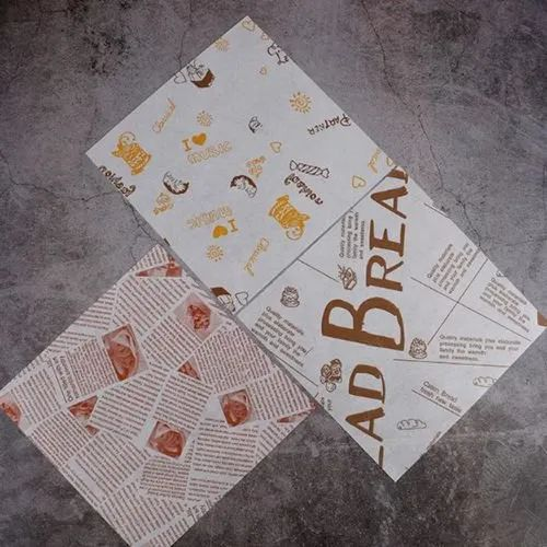 Grease Proof Printed Paper Pouch