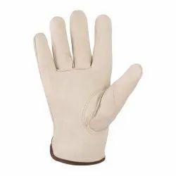White Leather Nappa TIG Glove