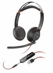 Plantronics Blackwire 5220 USB-A Headset, On-Ear Stereo Headset, Wired