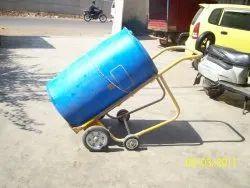 Drum, Barrel Shifting Cum Tilting Trolley