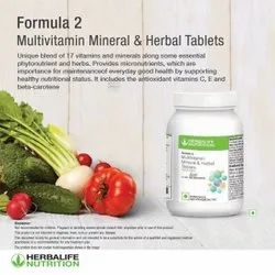Herbalife Multivitamin Mineral And Herbal Tablets, Non Prescription