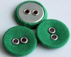 Fabric Eyelet Buttons