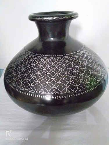 Clay Pot - HAND MADE WATER BOTTEL .5 LTR Wholesaler from Azamgarh