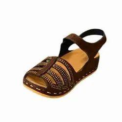 Ladies Daily Wear Sandal, Size: 7