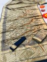 CAUSAL Pure silk Banarsi saree