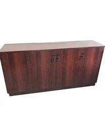 Rosewood MDF Credenza Cabinet, For Office