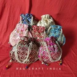 Gota Patti Potli Bag