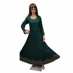 Green Long Ladies Gown