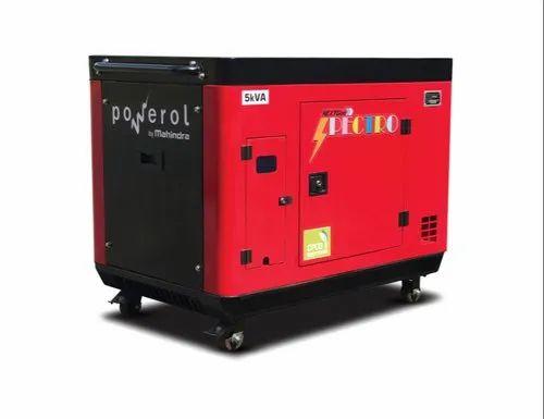5 KVA Mahindra Powerol Generator