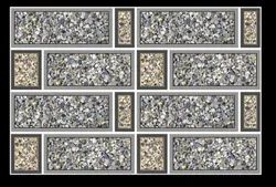 Ceramic 3105 Glossy Elevation Tiles, For Wall, Size/Dimension: 300 x 450 mm