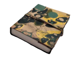 Printed Leather Handmade Journal