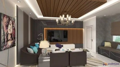 Living Room Turnkey Interior Designs